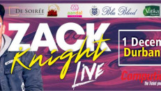 Zack Knight live in South Africa