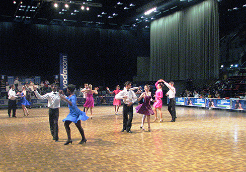 The Vodacom Yebo Millionaires Ballroom Dance Championships
