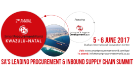 Smart Procurement World KwaZulu-Natal 2017 Conference & Expo