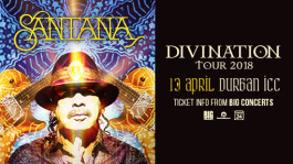 Santana Divination Tour 2018