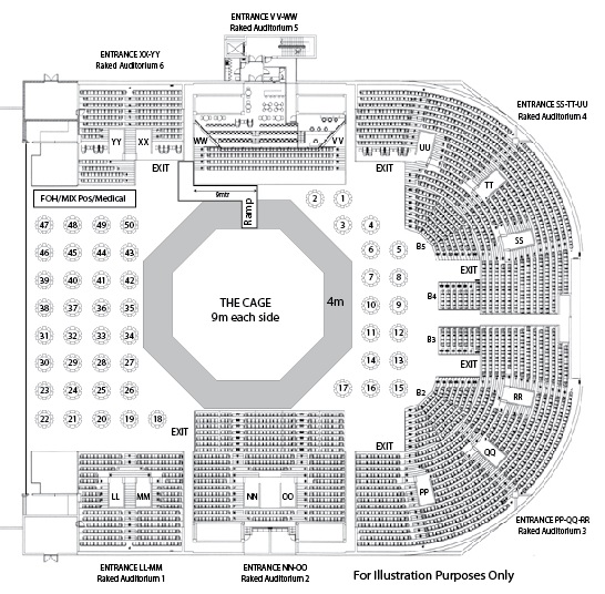 Sports Event Floorplan Example Durban Icc Events And Entertainment Venue