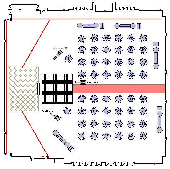 Wedding Floorplan Example
