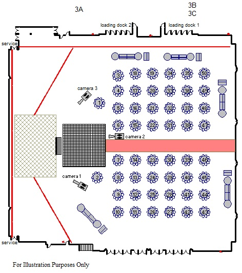 Free floor plan of marriage hall joy studio design for Wedding floor plan