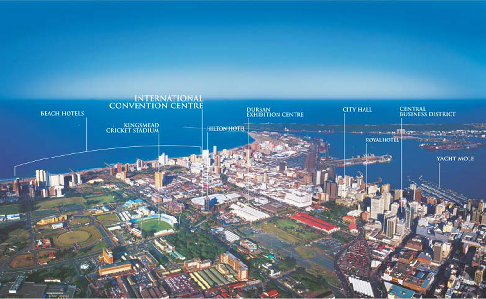 Maps & Directions - Durban ICC - Events and Entertainment Venue