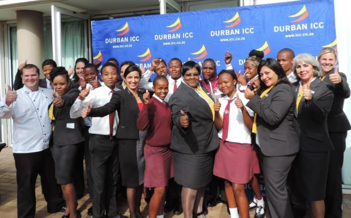 Durban ICC staff invest in youth for Mandela Day a