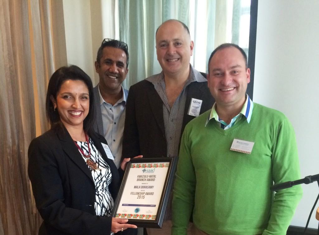 SAACI Fellowship Award 2015